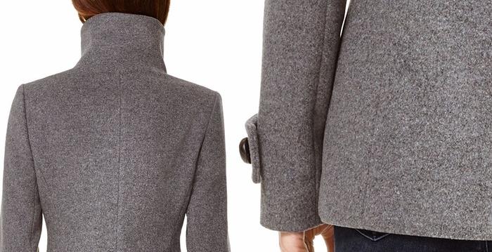 Шерстяная ткань Драп для пальто