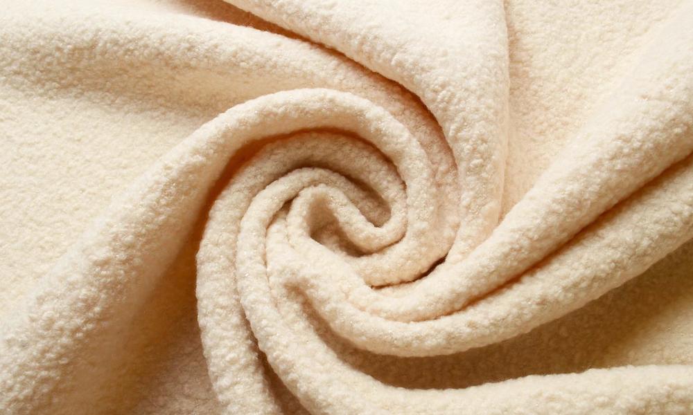 Шерстяная ткань Букле